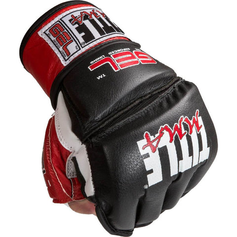 Title Gel MMA Bag Gloves - Main