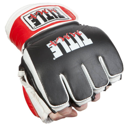 Title Gel Max MMA Training Gloves - Main