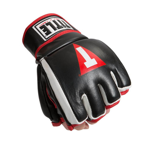 Title MMA Hybrid Sparring Gloves - Main