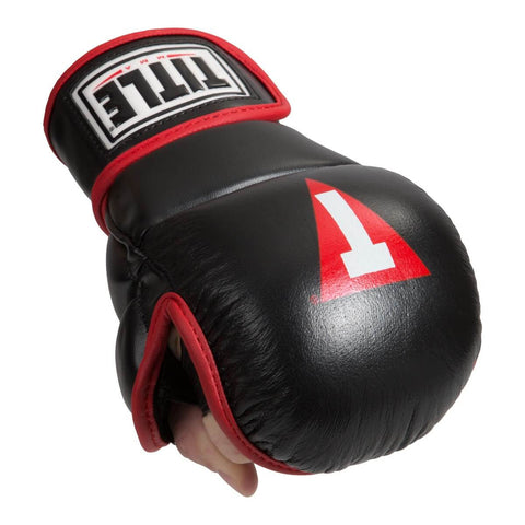 Title MMA Safe Spar Gloves - Main