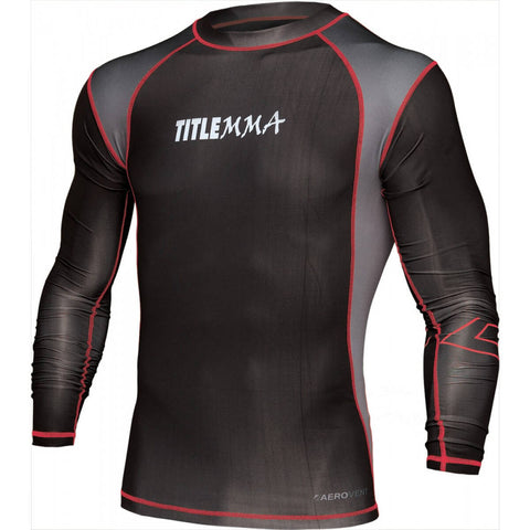 Title Shock Long-Sleeve MMA Rashguard - Main