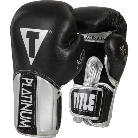 Title Platinum Pinnacle Training Gloves - Main