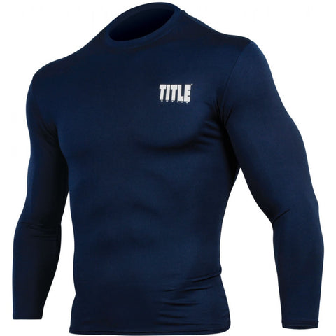 Title Pro Compress Long-Sleeve Rashguard - Angle 3