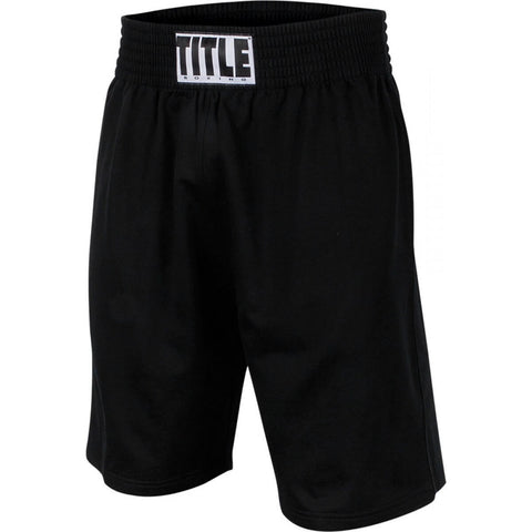 Title Boxing Training Shorts - Angle 2