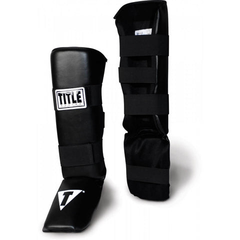 Title Vinyl Shin Guards - Main