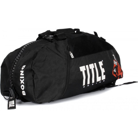 Title World Champion Duffel Bag/Backpack - Main