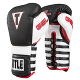 Title Boxing Conquer Lace Boxing Gloves - Angle 2