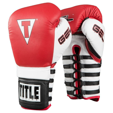 Title Boxing Conquer Lace Boxing Gloves - Main