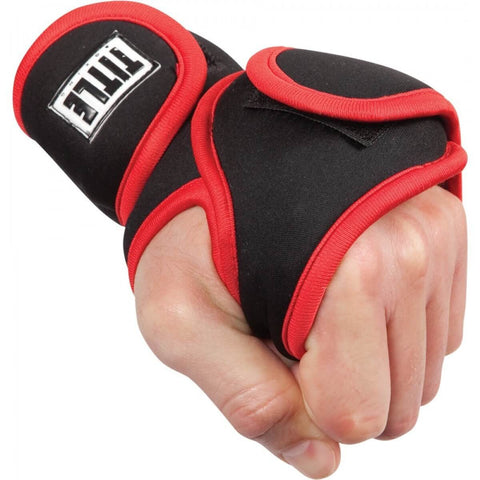 Title Boxing Deluxe Weighted Gloves - Main