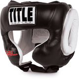Title Boxing Gel Traditional Headgear - Angle 2