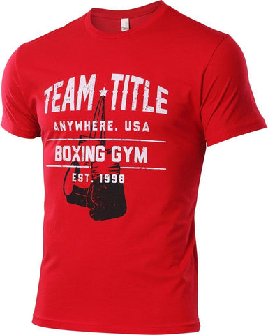 Title Boxing Gym T-shirt - Main