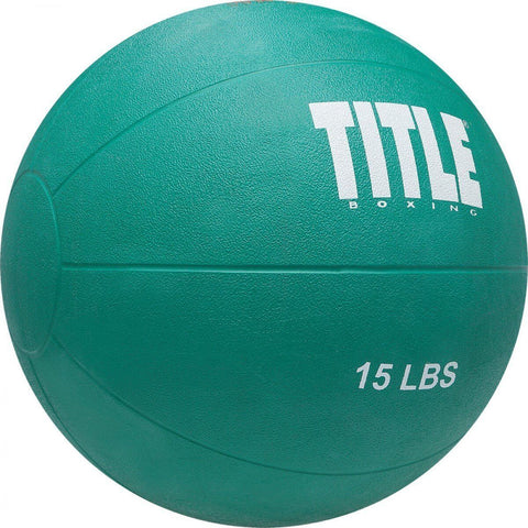 Title Boxing Max Rubber Medicine Ball - Main