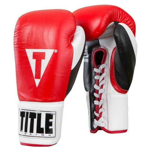 Title Boxing Official Fight Gloves - Main