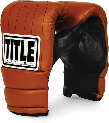 Title Boxing Old Style Bag Gloves - Main