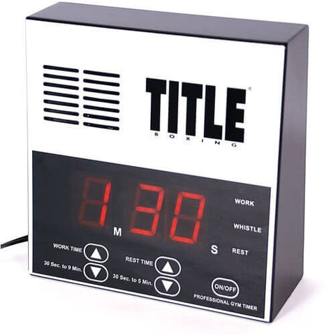 Title Boxing Professional Gym Timer - Main