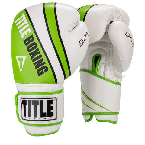 Title Exicte Foam Boxing Training Gloves - Angle 2