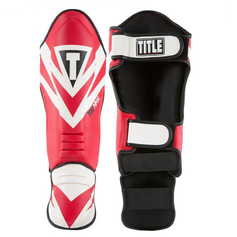 Title MMA Command Shin Guards - Main