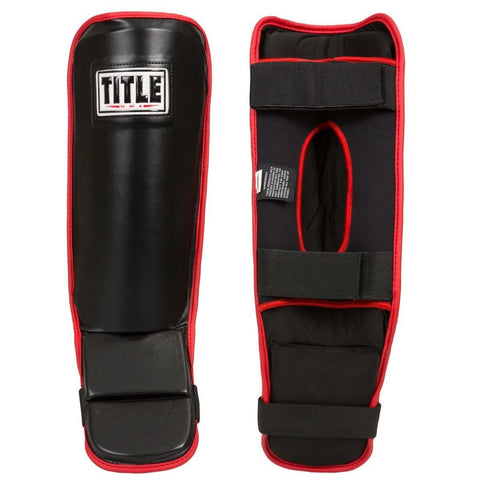 Title MMA Assault Grappling Shin Guards - Main