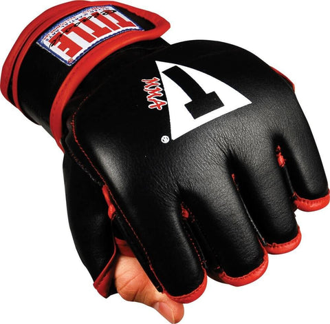 Title Open Thumb MMA Training Gloves - Main