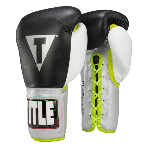 Title Platinum Pro Competition Gloves - Angle 2