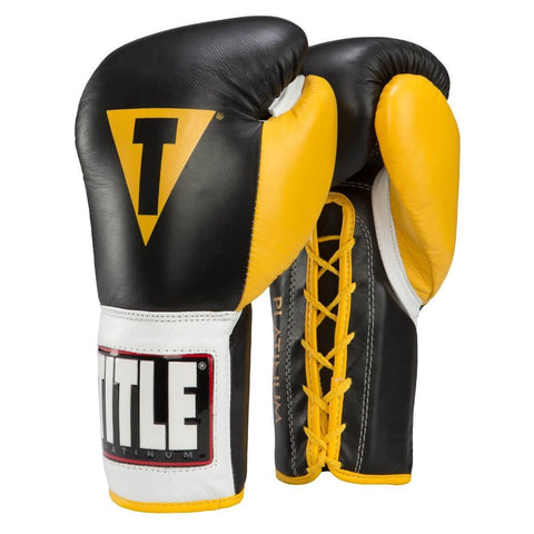 Title Platinum Pro Competition Gloves - Main