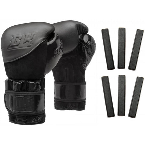 Title Black Blitz Weighted Boxing Bag Gloves - Main