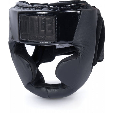 Title Black Full Face Headgear - Main