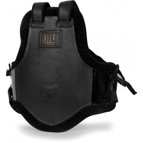 Title Black Trainer's Body Protector - Main
