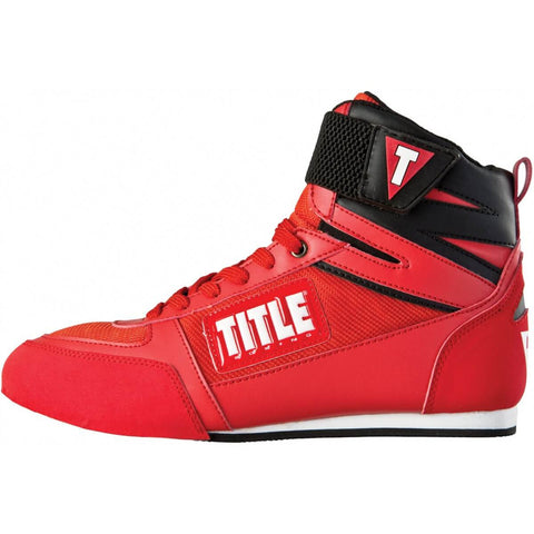 Title Box-Star Boxing Shoes - Angle 2