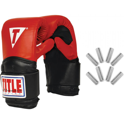 Title Boxing Weighted Boxing Bag Gloves - Main