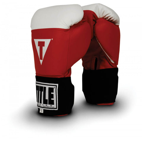 Title Boxing Amateur Competition Elastic Gloves - Main