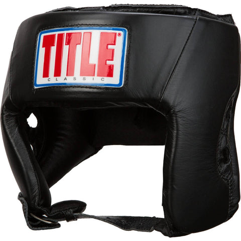 Title Classic Amateur Competition Headgear WO/Cheeks - Main