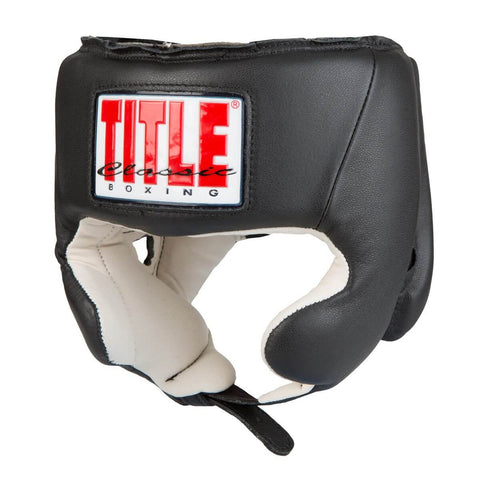 Title Classic Amateur Competition Headgear W/Cheeks - Main