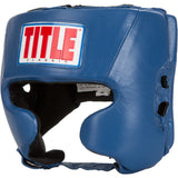 Title Classic Amateur Competition Headgear W/Cheeks - Angle 3