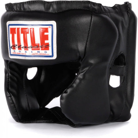 Title Youth Hi-Performance Traditional Headgear - Main