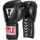 Title Classic Leather Training Gloves (Lace) - Main