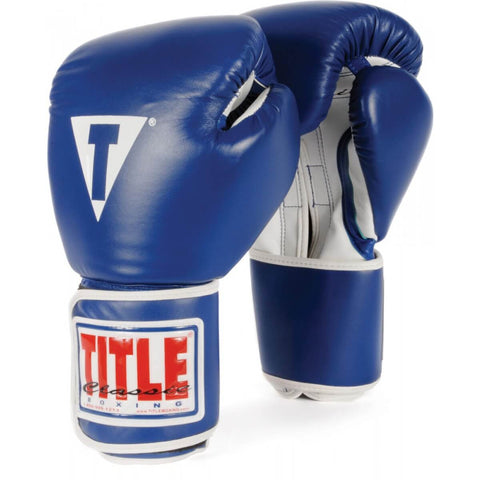Title Pro Style Elite Training Gloves - Angle 2