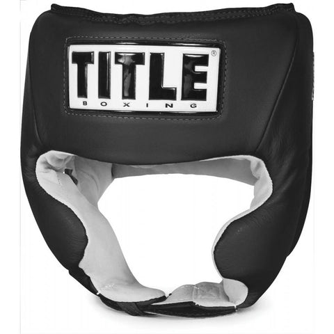 Title Competition Headgear W/Cheek - Plain Color - Main