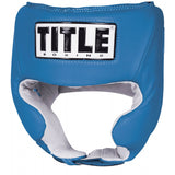 Title Competition Headgear W/Cheek - Plain Color - Angle 2