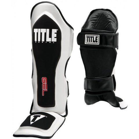 Title Gel Elite Pro Shin Guards - Main
