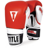 Title Gel Intense Sparring Gloves - Angle 2