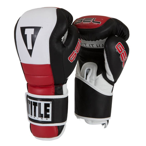 Title Gel Rush Boxing Training Gloves - Main