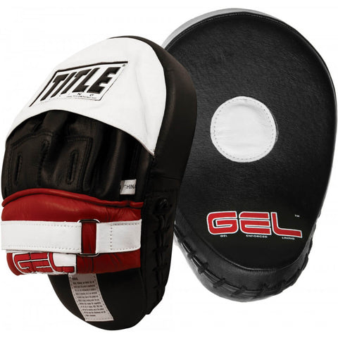 Title Gel World Class Contoured Punch Mitts - Main