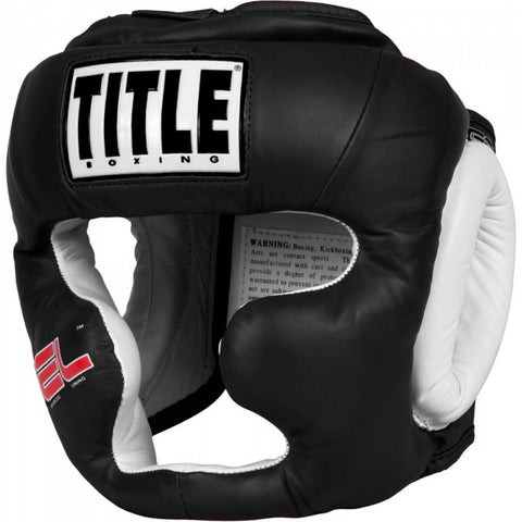 Title Gel World Class Training Headgear - Main