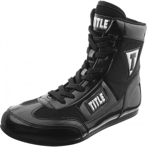 Title Hyper Speed Elite Boxing Boots - Main