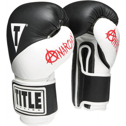 Title Infused Foam Boxing Training Gloves - Main