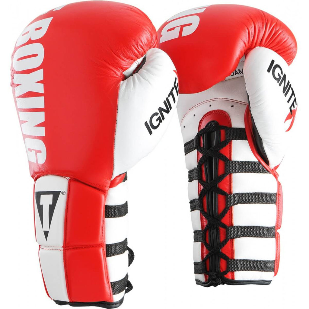 Title Infused Foam Power Lace Training Gloves