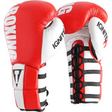 Title Infused Foam Power Lace Training Gloves - Angle 2