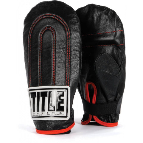 Title Speed Leather Speed Bag Gloves - Main
