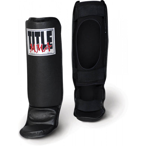 Title MMA Grappling Shin Guards - Main